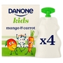 Danone Kids Organic Mango & Carrot no added sugar yogurt