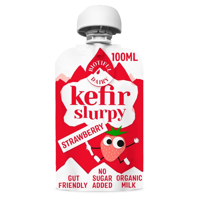 Biotiful Dairy Kefir Strawberry Slurpy