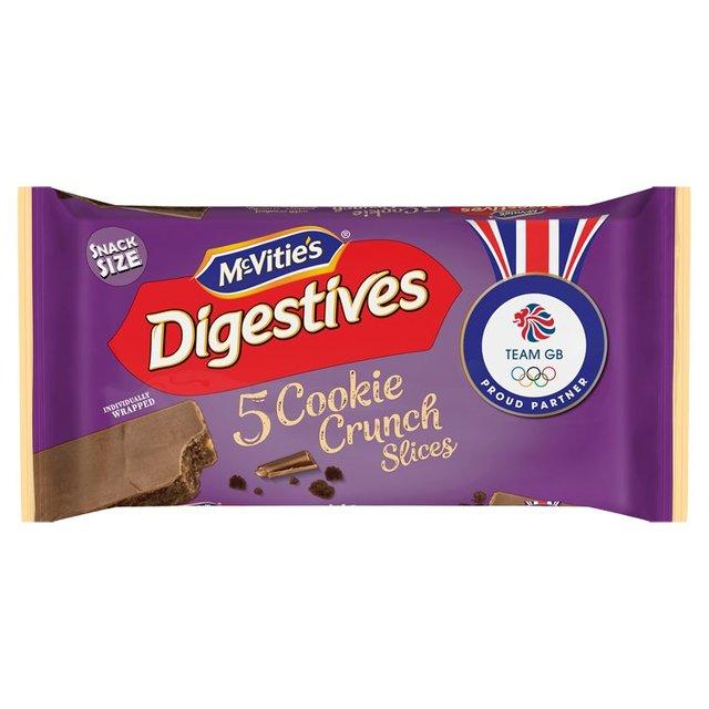 McVitie's Digestives Cookie Crunch Slices