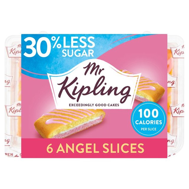 Mr Kipling Angel Slices 30% Less Sugar