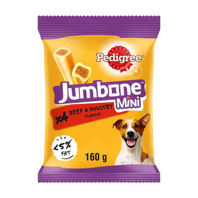 Pedigree Jumbone Mini With Beef Poultry Morrisons