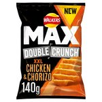 Walkers Max Double Crunch Chicken & Chorizo