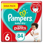 Pampers Baby Dry Nappy Pants Giga Pack