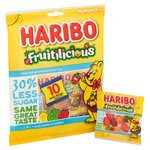 Fruitilicious Minis 30% less sugar