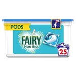 Fairy Non Bio 3 In 1 Pods For Sensitive Skin 25 Washes