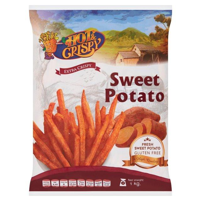 Hot & Crispy Extra Crispy Sweet Potato Fries