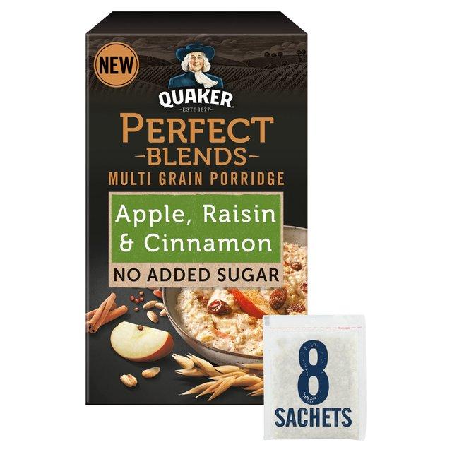 Quaker Perfect Blends Apple, Raisin & Cinnamon Porridge Sachets
