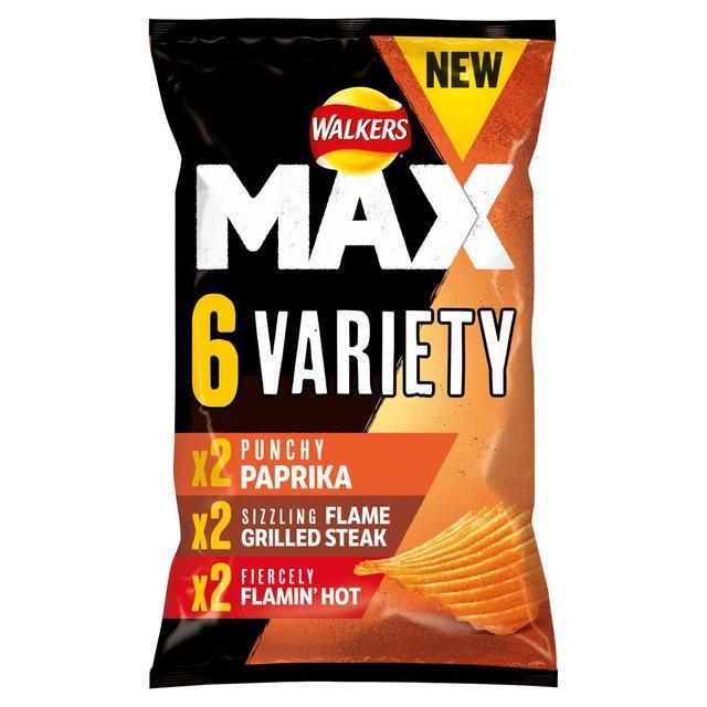 Walkers Walkers Max Variety Crisps