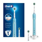 Oral - B Pro 670 Cross Action Rechargebale Toothbrush With 2 Heads