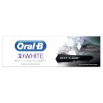 Oral-B 3Dw Whitening Therapy With Charcoal Toothpaste