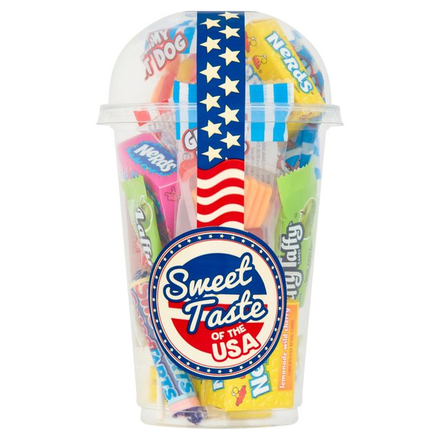 Tastes Of The Usa Pick 'N' Mix Cup 200G