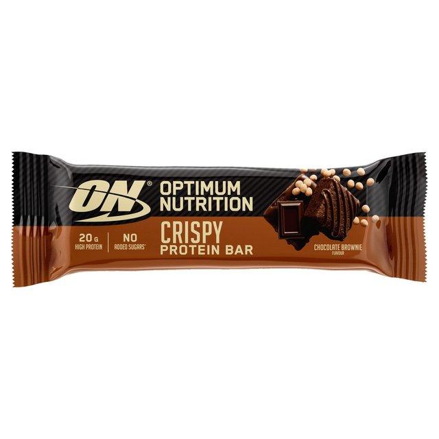 Optimum Nutrition Chocolate Brownie Protein Crisp Bar