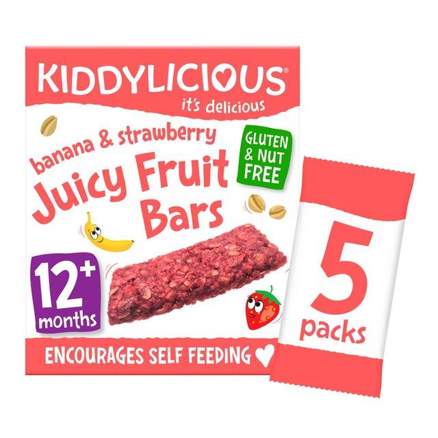 Kiddylicious Banana & Strawberry Juicy Fruit Bars