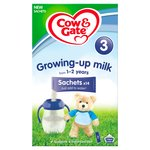 Cow & Gate Growing Up Milk Sachets