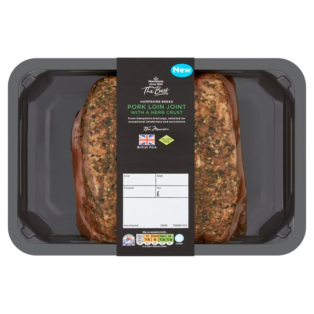 Morrisons The Best Hampshire Pork Loin Joint With Herb Crust
