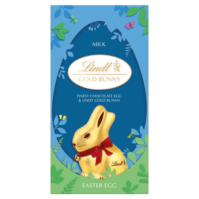 Lindt Gold Milk Chocolate Bunnies & Easter Egg