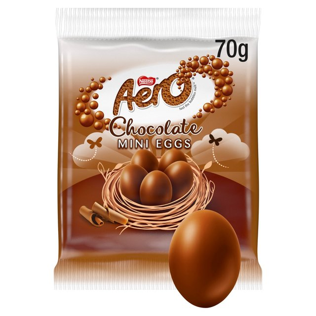 Aero Milk Chocolate Mini Eggs Bag