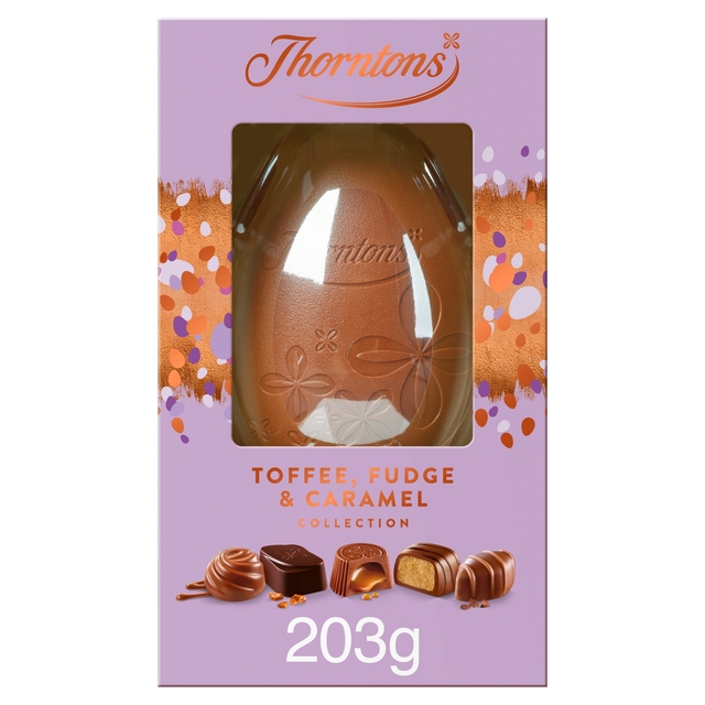 Thorntons Toffee Fudge Caramel Easter Egg