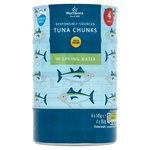 Morrisons Tuna Chunks In Spring Water