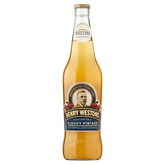 Henry Westons Cloudy Vintage Cider