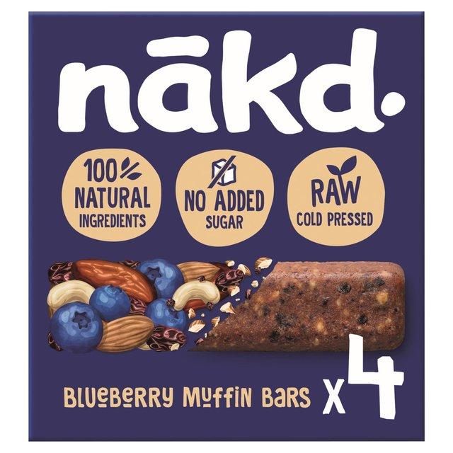 Nakd Blueberry Muffin 4 Raw Fruit & Nut Bars