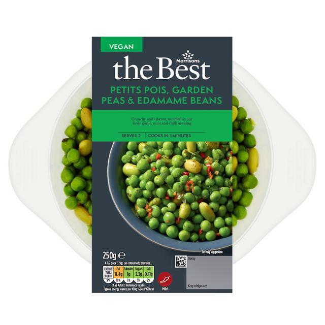 Morrisons The Best Petit Pois, Garden Beans & Edamame Beans