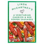Linda McCartney's 6 Vegetarian Chorizo & Red Pepper Sausages