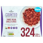 Morrisons Calorie Counted Three Bean Chilli