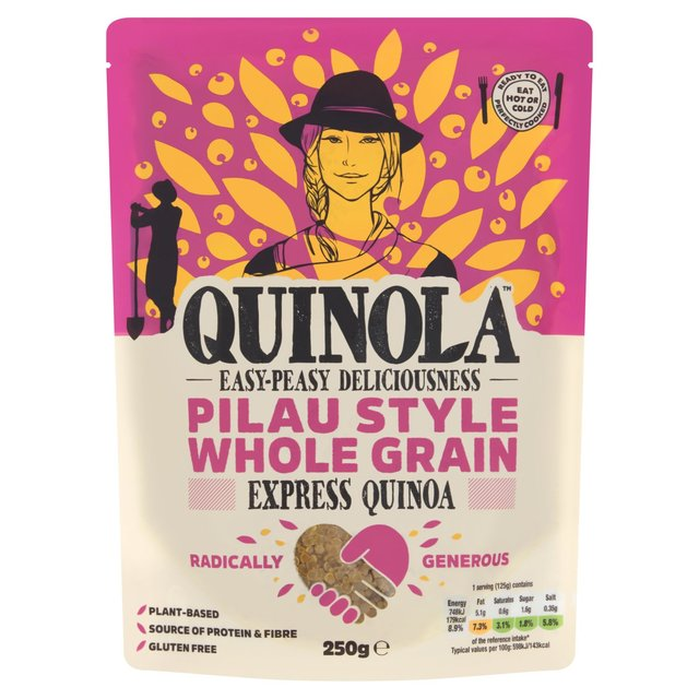 Quinola Mothergrain Express Quinoa Whole Grain Pilau Style