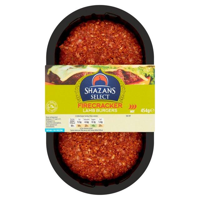 Shazans Select Firecracker Lamb Burger