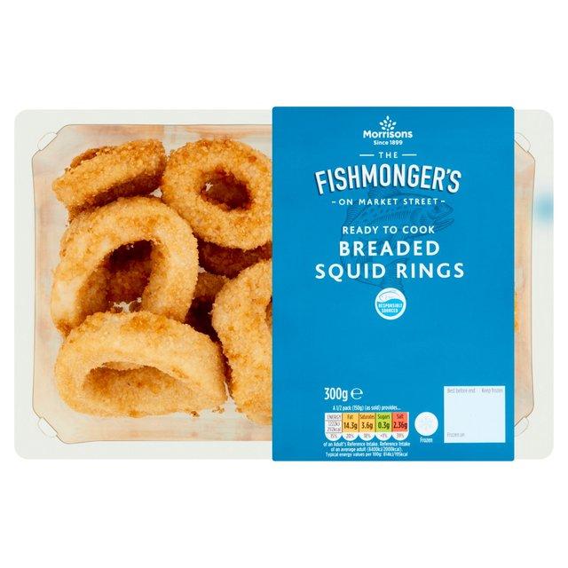 Morrisons Breaded Squid Rings