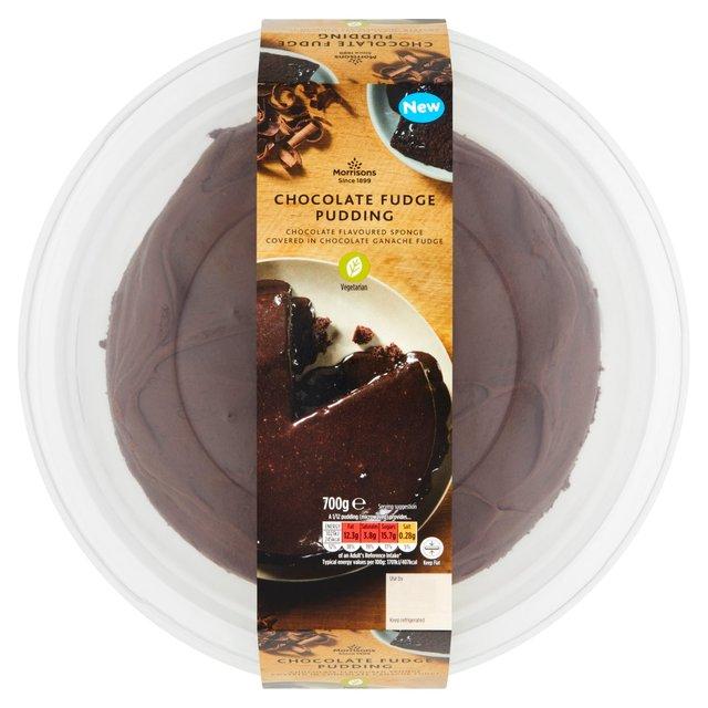 Morrisons Chocolate Fudge Cake
