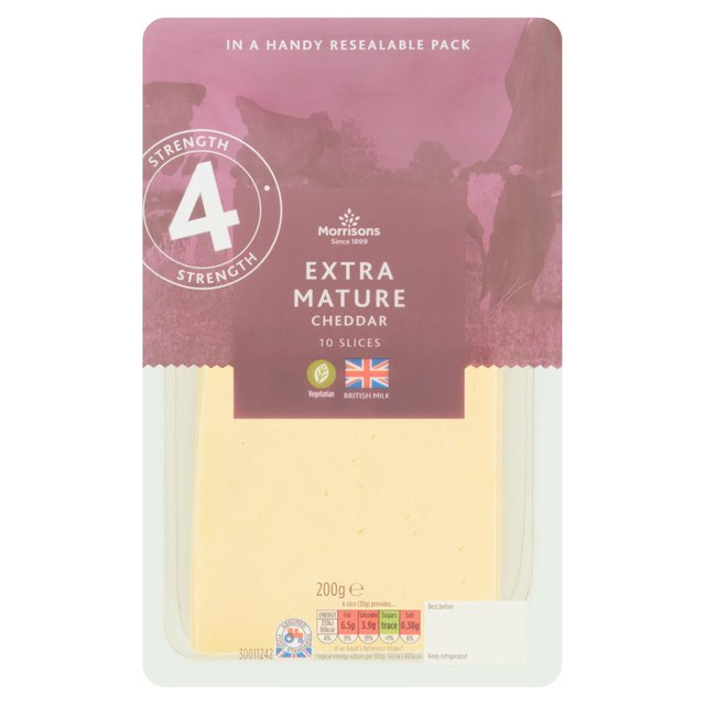 Morrisons Extra Mature Cheese Slices