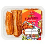 Morrisons Pork Maple Glazed Belly Slices