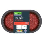 Morrisons The Best 2 British Chuck Steak Burgers