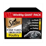 Sheba Fine Flakes In Jelly Poultry Selection