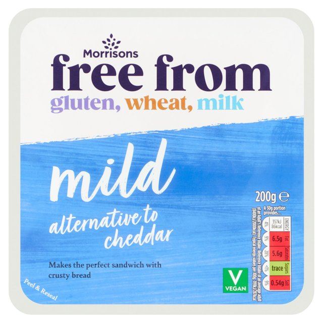 Morrisons Free From Cheddar