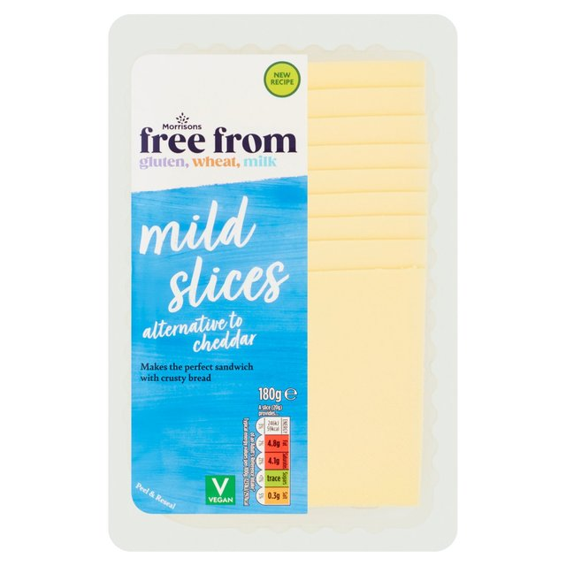 Morrisons V Taste Cheddar Slices