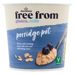 Morrisons Free From Plain Porridge Pot