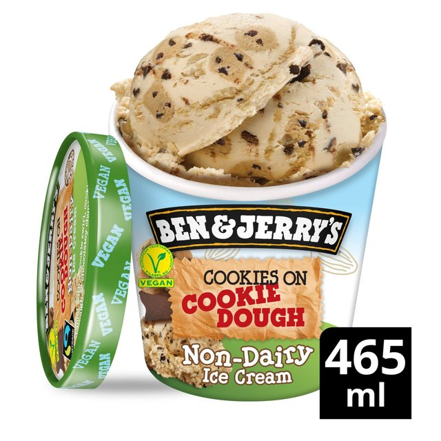 Ben & Jerry's Cookie Dough Non - Dairy Ice Cream