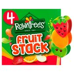 Rowntrees Fruit Stack Lollies x 4