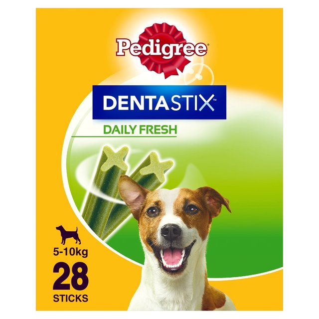 Pedigree Dentastix Fresh Daily Small Dental Dog Treats 28 Sticksck