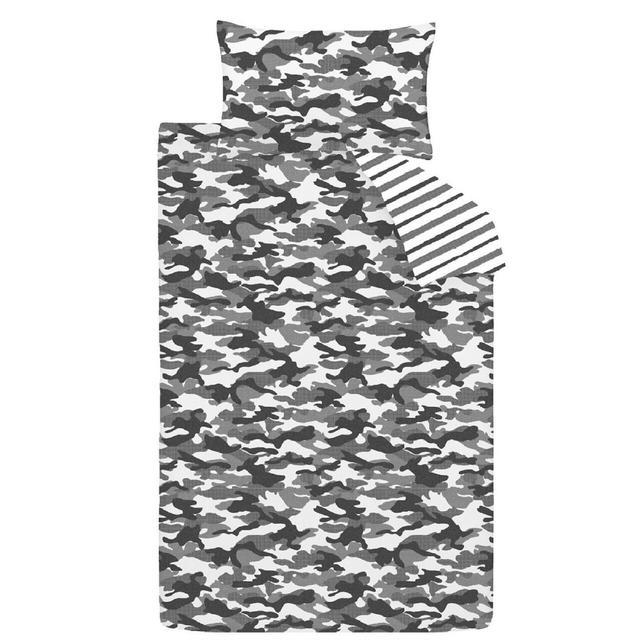Nutmeg Camo Duvet Cover & Pillowcase