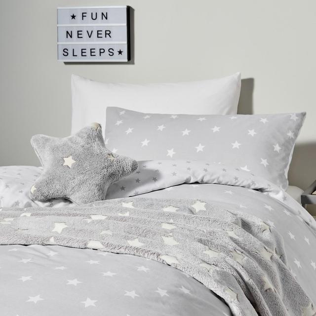 Nutmeg Star Duvet Cover & Pillowcase