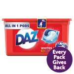 Daz All In 1 Pods For Whites & Colours 39 Washes