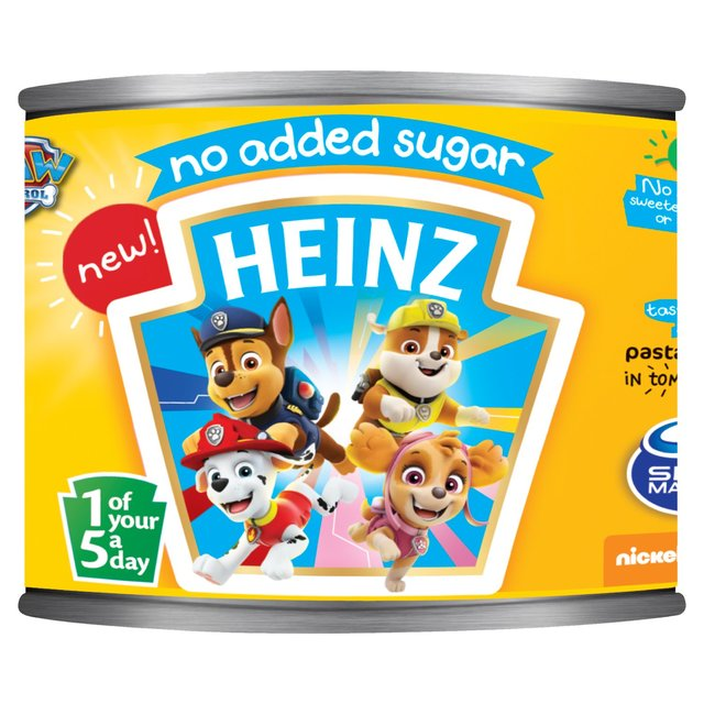 Heinz Paw Patrol Pasta Shapes In Tomato Sauce No Added Sugar