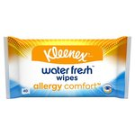 Kleenex Water Fresh Wipes Allergy Comfort 40 Wipes