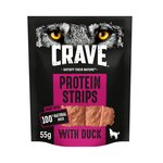 Crave Protein Strips With Duck