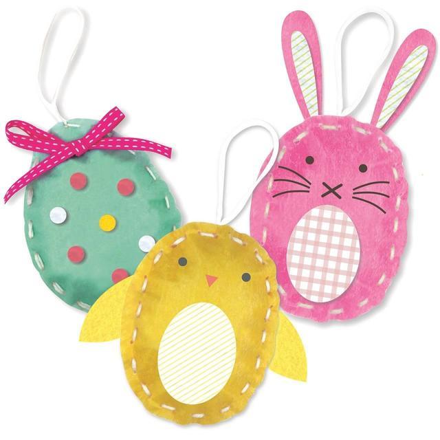 Morrisons Easter Make Your Own Felt Decorations