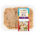 Morrisons Garlic & Herb Chicken Breast Steaks